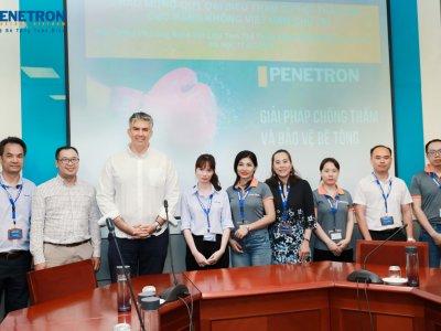 TICO và Penetron tổ chức hội thảo sản phẩm tại Cục Hàng Không Việt Nam