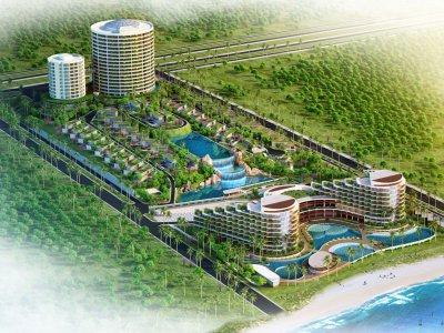 TICO trúng thầu chống thấm dự án Khu Du Lịch Hồng Hà - Cam Ranh