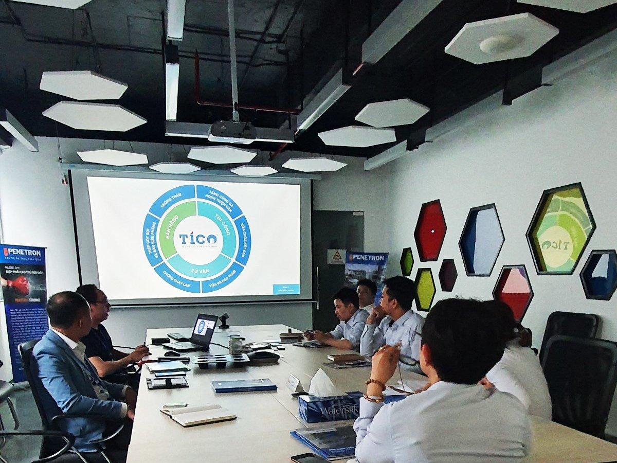TICO tổ chức buổi hội thảo tư vấn chống thấm dự án khách sạn Marriott Đà Nẵng