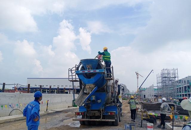 TICO triển khai công tác chống thấm tại dự án TOTO Việt Nam