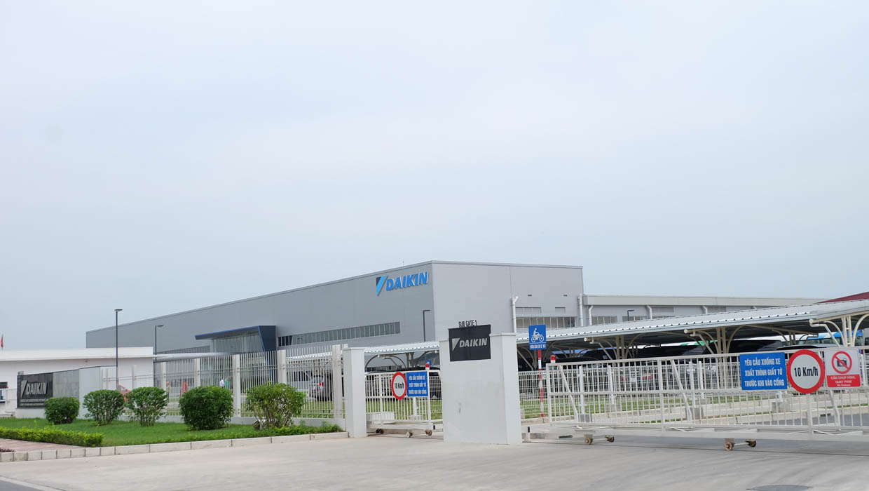 DAIKIN AIR CONDITIONING FACTORY